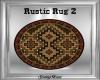 Rustic Rug Round