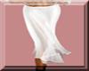 Sheer Long Skirt White