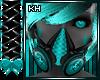 CyberGoth Teal Gas Mask