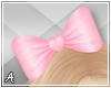 A| Pink Hair e Bow