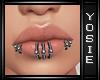 ~Y~Ginny Lip Piercings