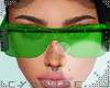 -C- Freak Glasses Green