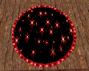 red star roud rug
