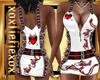 [L] BADGIRL White Dress