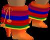 Rainbow Unicorn boots