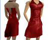 DN Leather Minidress Red