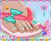 ❤ Kid Berry Flip Flops