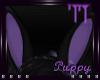 Bunny Ears Purple (M)