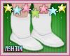 ! KID White Boots