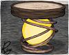 Yellow Stool Chair