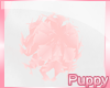 [Pup] Pink Bunny Tail