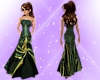 M.R. Emerald n Gold Gown