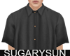 /su/ SATIN SHIRT BLACK