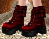 Burgundy Boots V1