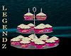 Fox/Choc Bday Cupcakes