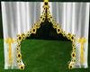 sunflower curtains