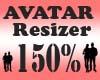 Avatar Scaler 150% / F