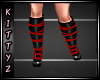 ! Strapy Boots Red