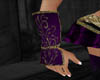Purple Gold Gauntlets