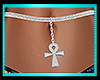 """Ankh belly chain """"Life"""""""
