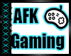 -I- AFK Gaming Head Sign