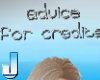 Advice for credits - sil