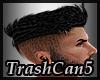 Hair short black