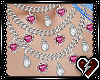 T PearHeart Necklace