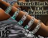 Silver&Black Bracelet LH