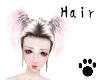 Brond/Pink Hair