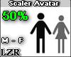 Scaler Avatar M- F 50%