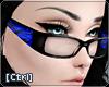 |C| Glasses Zebra Blue