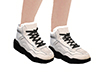*HC* Black & White Shoes