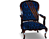 Blue Chair w Stripes