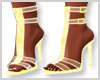 Yellow Butterfly Heels