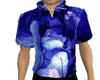 Blue Leaf Shirt (M)
