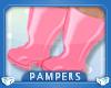 ! KIDS Pink Rain Boots