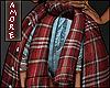 $ Add-on Plaid Shirt M