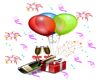 Party decoration sticker