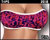 E| Camo Bandeau Hot Pink