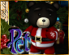 I~Pet Santa Bear*Black