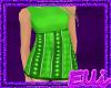 *E* Green Stripe Dress