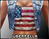 Jeans Jacket Vest USA