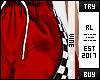 ♔ Red Racer Sweat RL