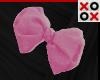 Pink Bow Hair Clip - R