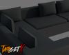 Black Corner Couch