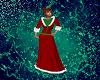 Santa Long Holiday dress
