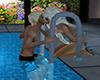 Luxury Pool Ladder Kiss