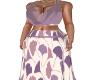 Seaside Dress-Mauve
