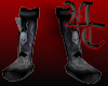 skull armour boots